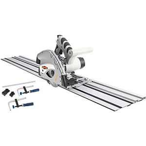 Shop Fox Portable Electric Track Saw Master Pack W1832