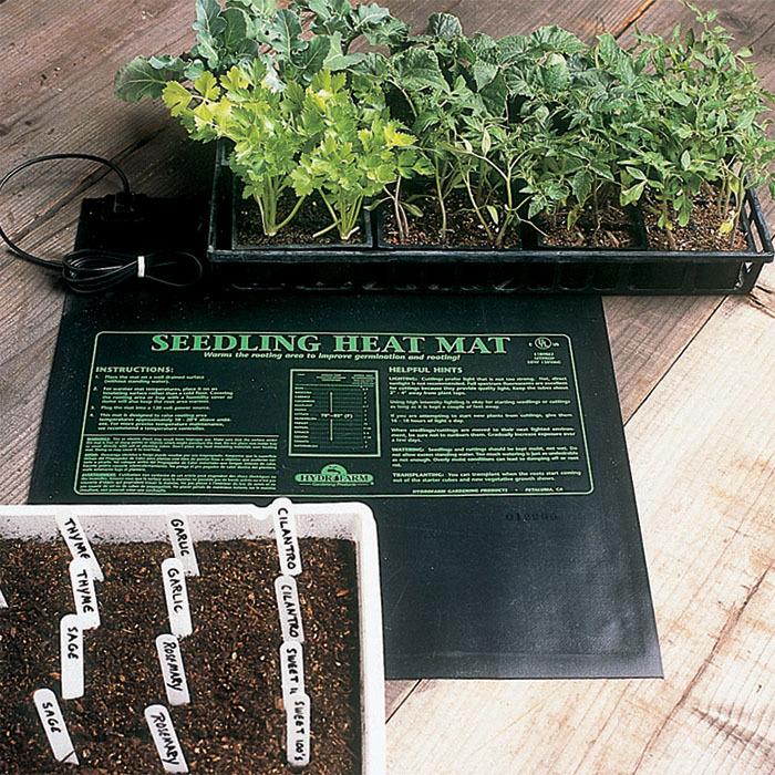 Seedling Heat Mat For 2 Flats