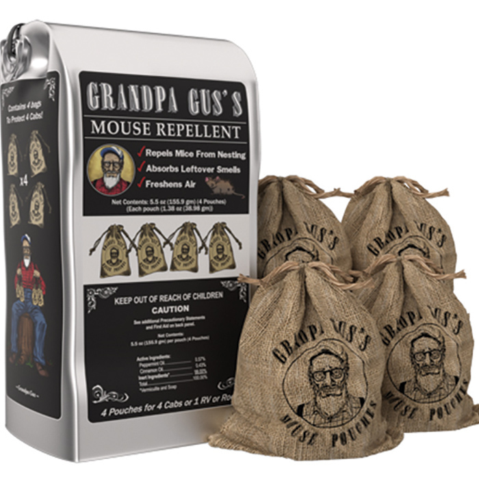 Grandpa Gus Mouse Repellent Pouches