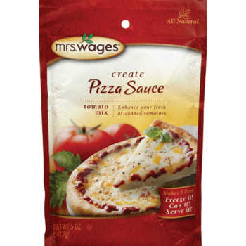 Mrs Wages Pizza Sauce Mix