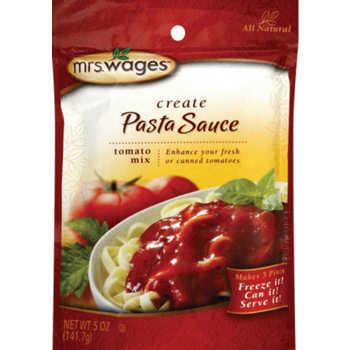 Mrs Wages Spaghetti Sauce Mix