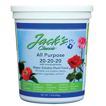 Jack's Classic All Purpose Fertilizer 20-20-20