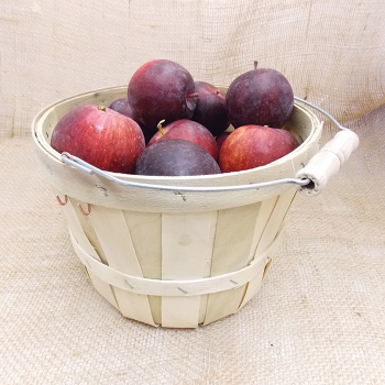 1/2 Peck Wooden Basket