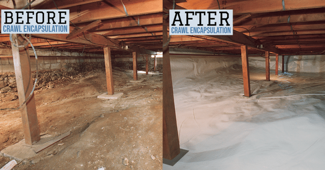 What are the benefits of a crawlspace encapsulation?...