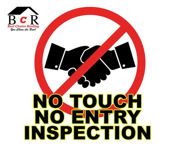 No Touch Roof Inspection