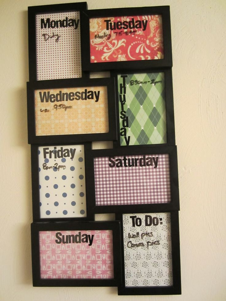 11  Picture Frames For Everything Except Pictures. 16 Frugal DIY Tips and Tricks To Spruce Up Your College Room   uCribs