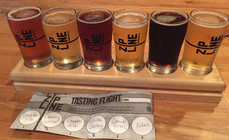 Zipline Brewing Co - Top 25 College Town Breweries