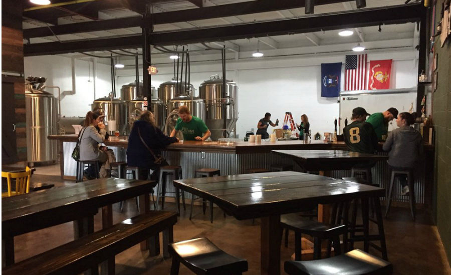 Ellison Brewery Spirits - Top 25 College Town Breweries