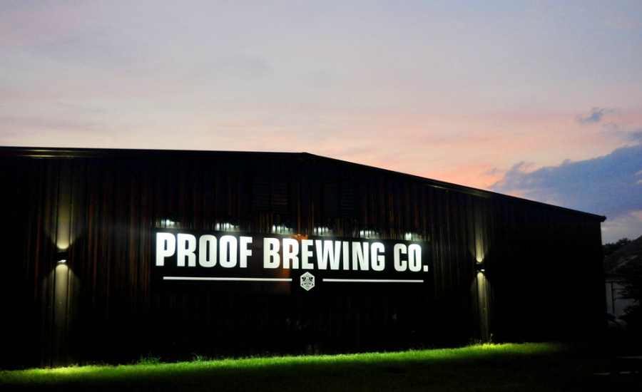 Proof Brewing Company - Top 25 College Town Breweries
