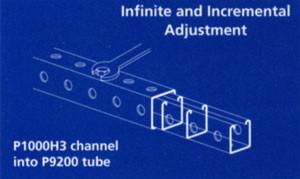 Telescopic Square Tubing Unistrut Midwest