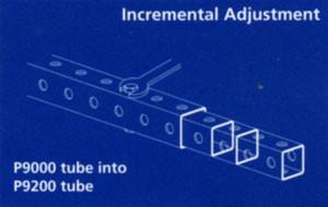 Telescopic Square Tubing - Unistrut Midwest