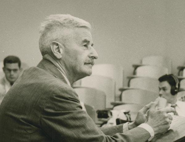 """1957: Faulkner Among the """"Snobs"""""""