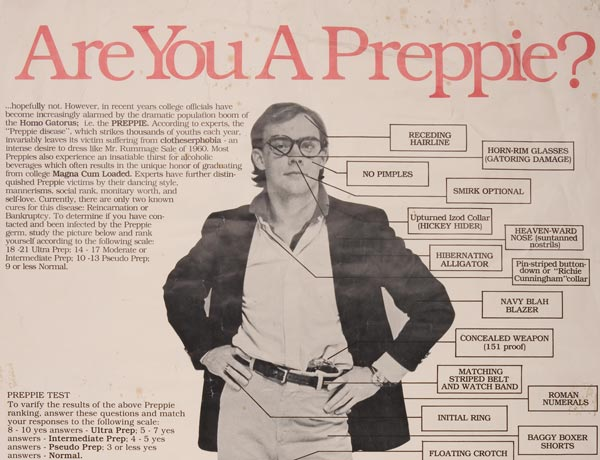 1979: Preppie Profiler
