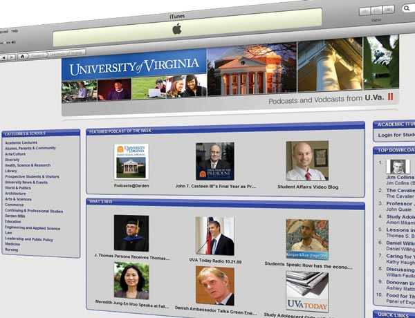 Bookmarked: UVA on iTunesU