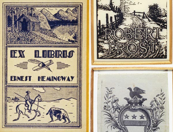 Ex Libris: Bookplates from the Libraries of the Rich and Famous
