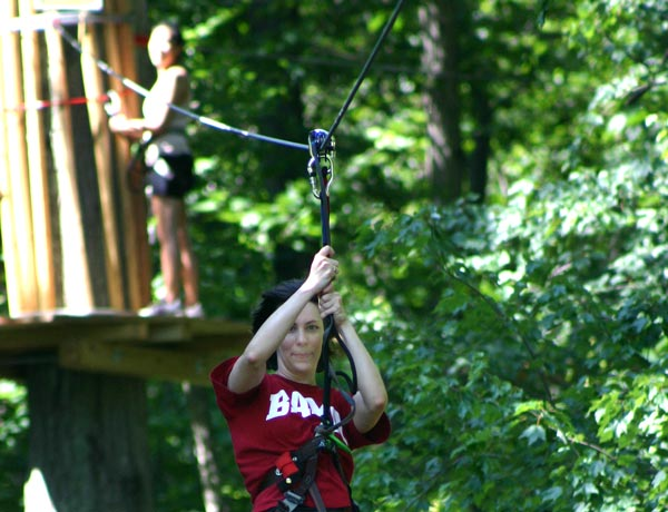 Leap of Faith: Go Ape! obstacle course
