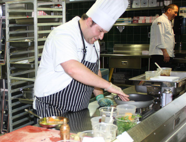 UVA's Chef Bryan's tailgate recipes—Mini Cheesesteaks