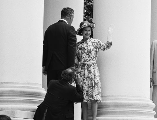 1976: A Royal Visit
