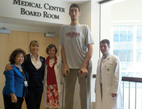 World's Tallest Man Undergoes Gamma Knife Surgery at UVA