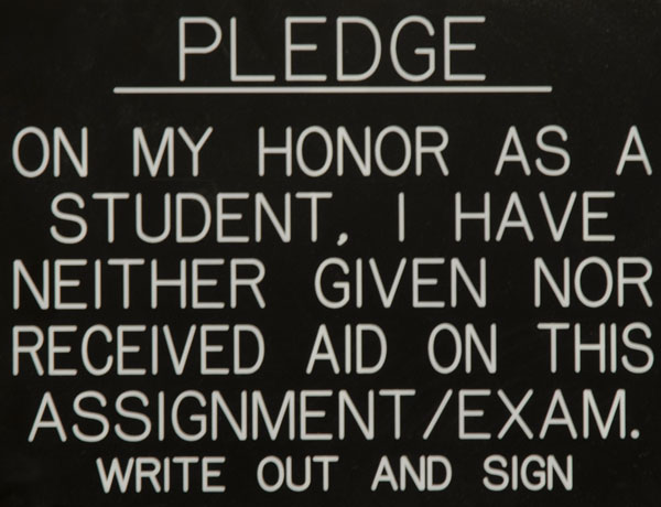 Honor Committee Proposes Changes to System