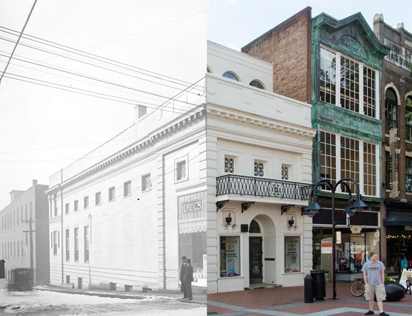 Charlottesville Then & Now