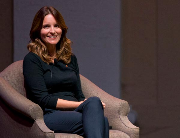 Q&A with Tina Fey