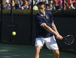 Men's Tennis Breaks All-Sport Record
