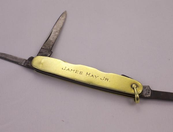 James Hay Jr.'s Pocket Knife