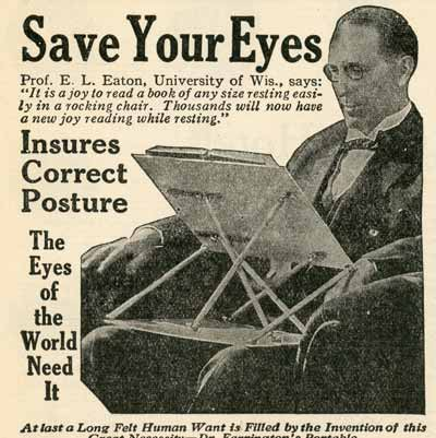 Save Your Eyes, 1927