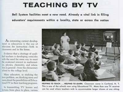 Teaching By TV