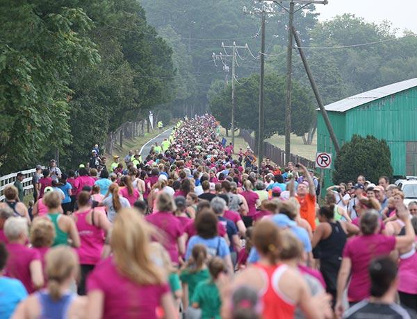 Charlottesville Women's Four Miler