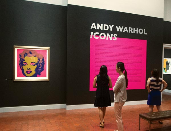 Andy Warhol at the Fralin