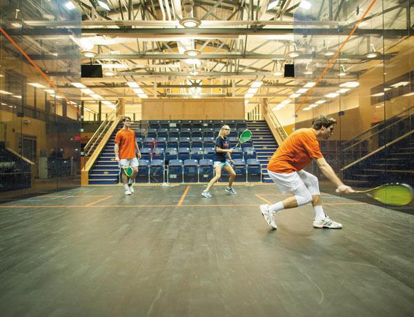 Squash Goes Varsity