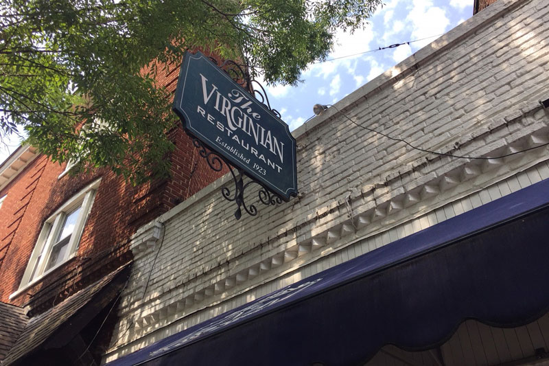 The Virginian restaurant on the Corner