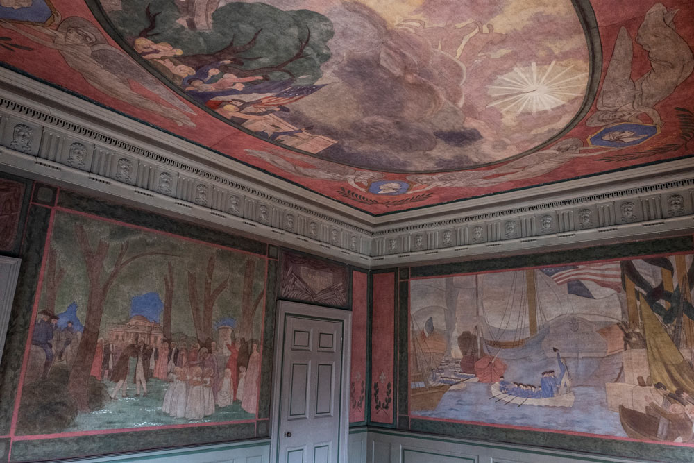 Mural room in Pavilion VI