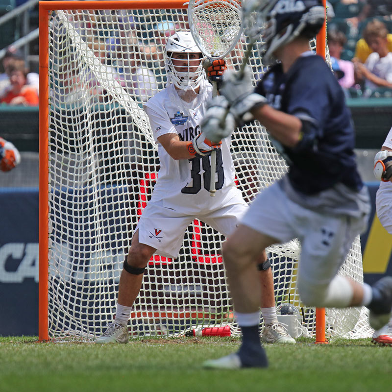 UVA goalie Alex Rode