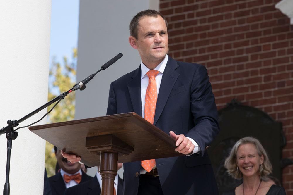 President James E. Ryan