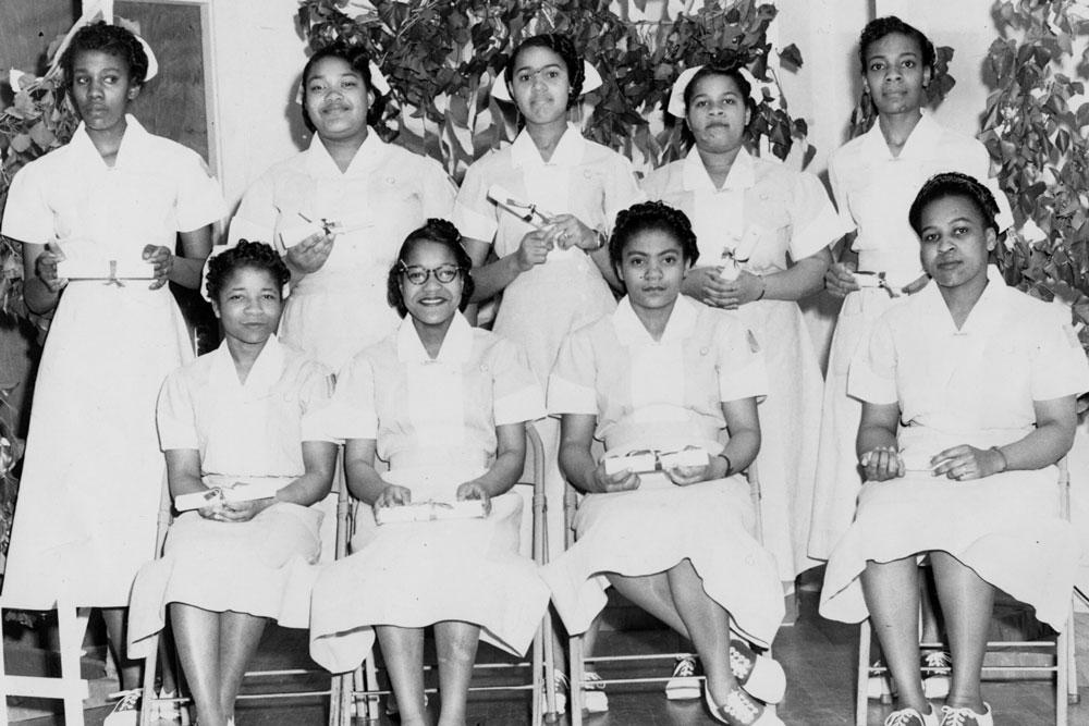 Licensed practical nurse (LPN) graduates, undated
