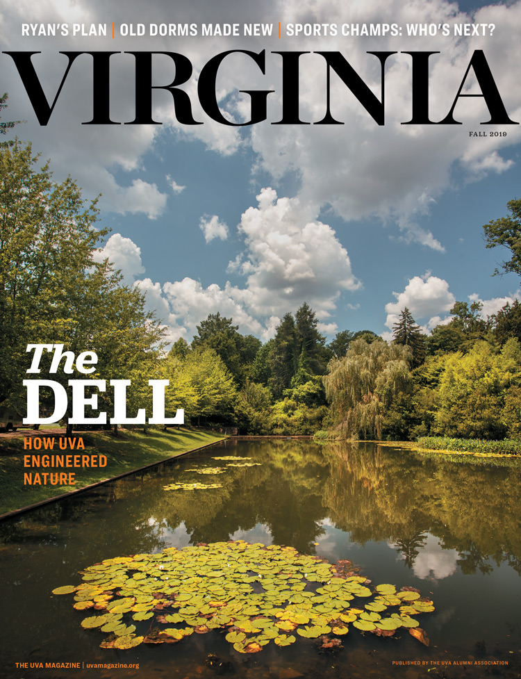Cover image from Fall 2019 issue, featuring the Dell