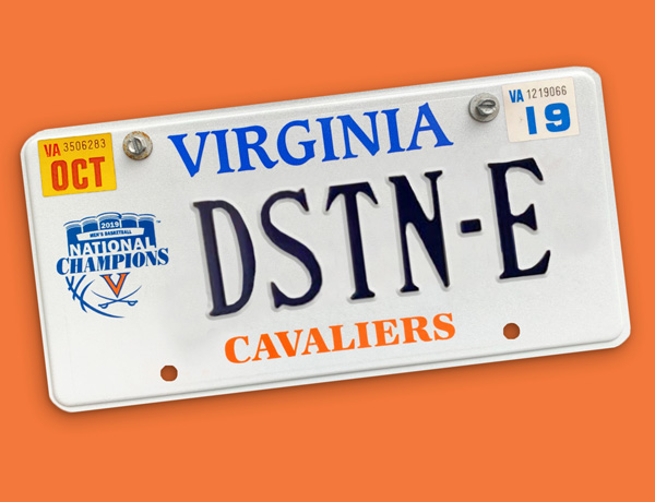 'Hoos Get Creative With Personalized Plates
