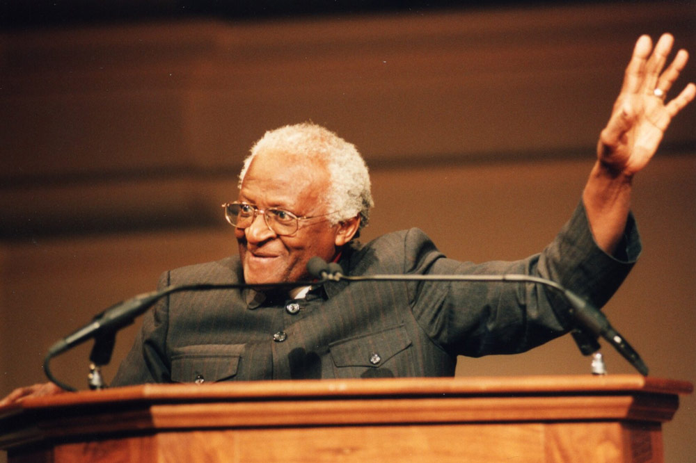 Desmond Tutu speaking