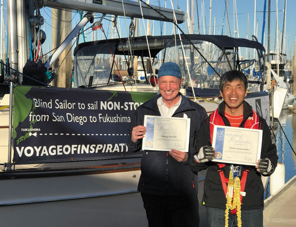 Alumnus guides blind sailor across Pacific