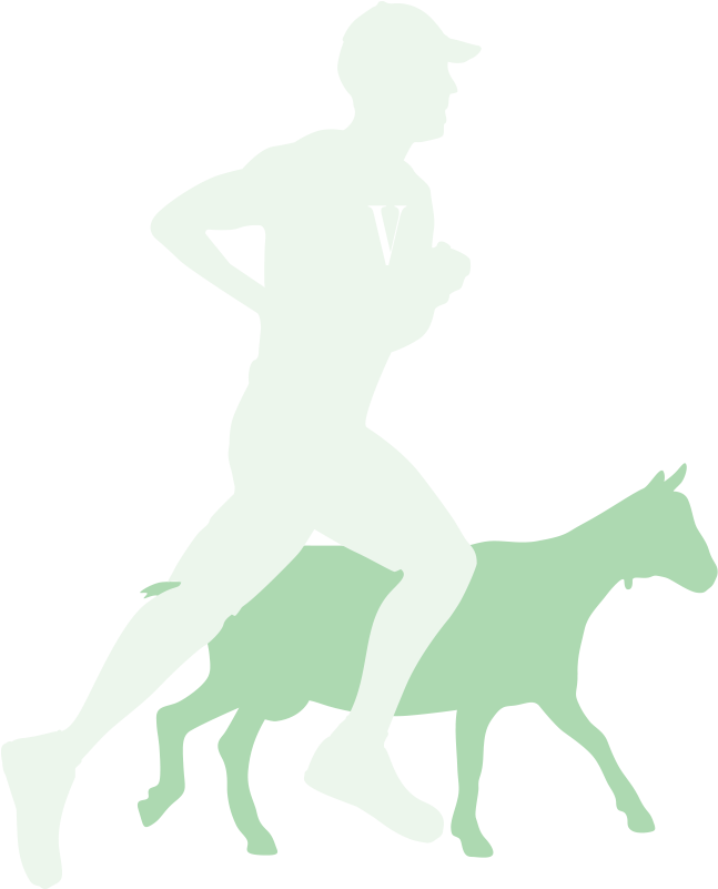 Runner, with goat for comparison