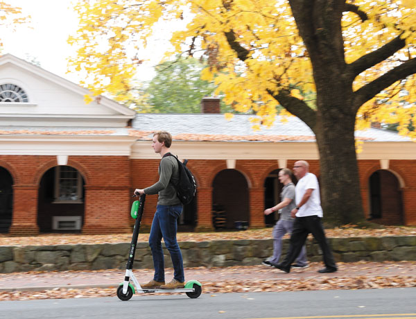 Scooters are a fast-growing trend on Grounds. Get up to speed.