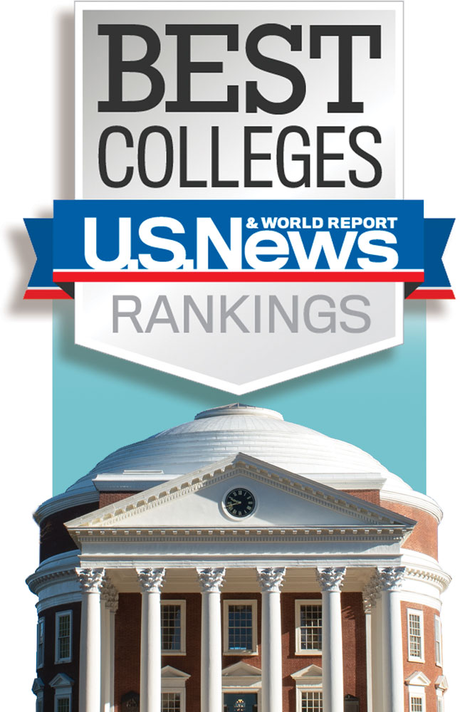 U.S. News Best Colleges Rankings logo