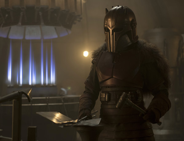 UVA grad thrives as Armorer in The Mandalorian