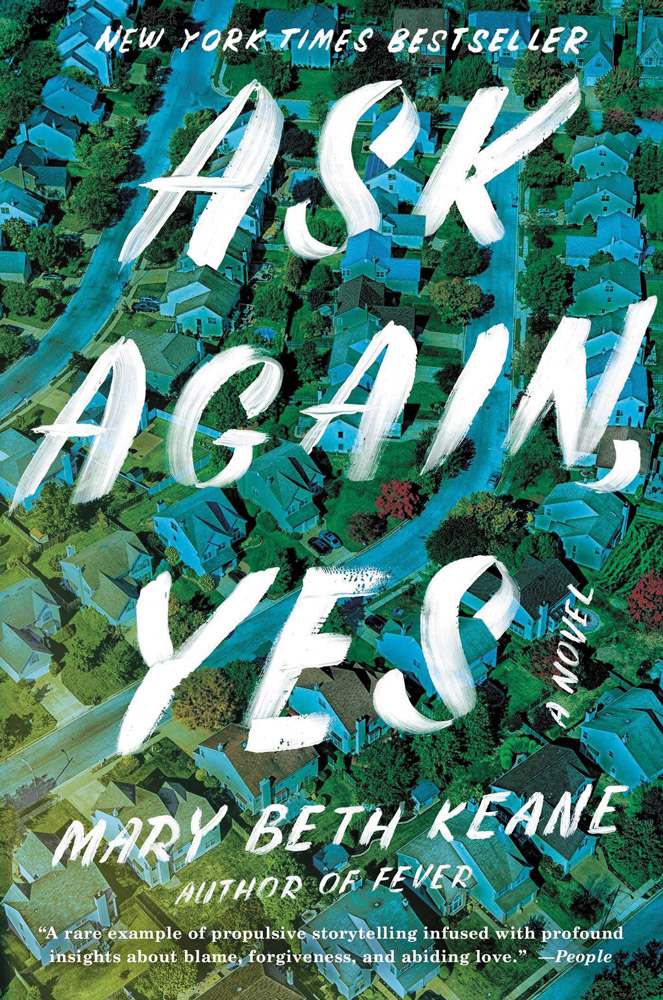 Book cover of Ask Again, Yes