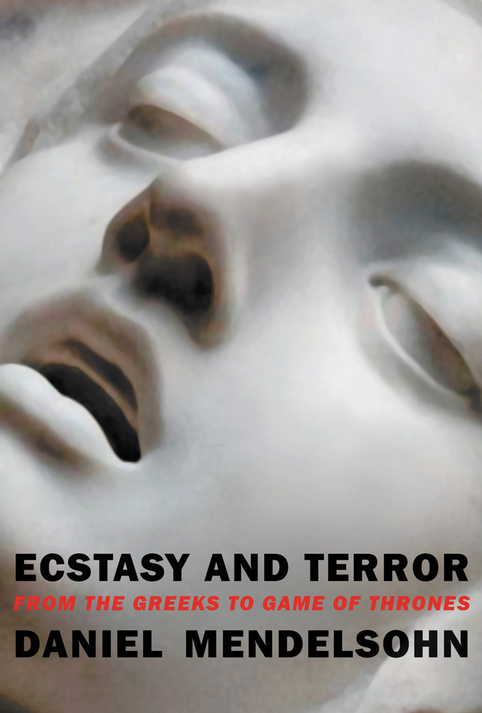 Book cover of Ecstasy and Terror