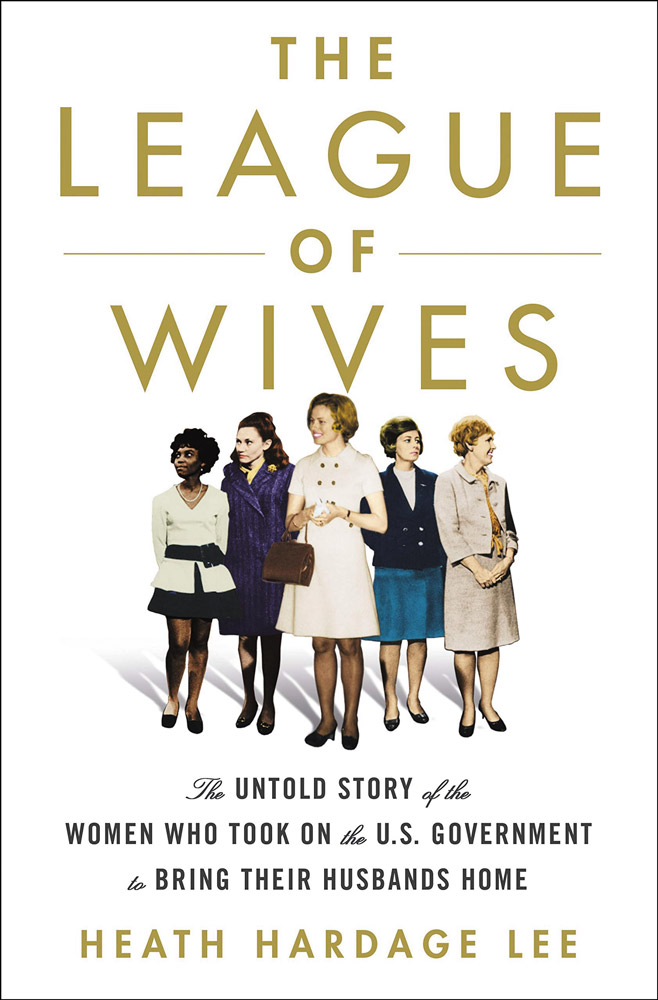 Book cover of The League of Wives