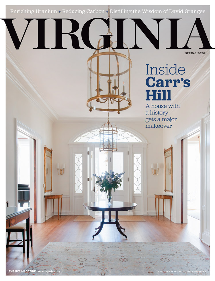 Cover of the Spring 2020 issue of Virginia Magazine